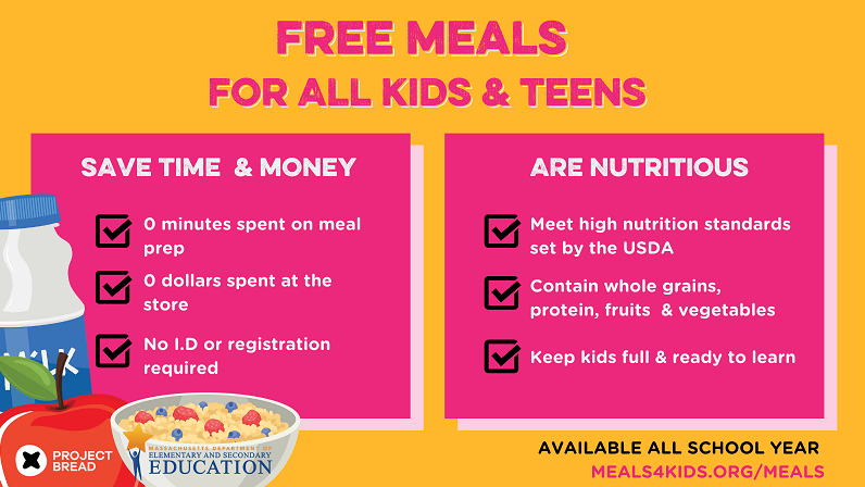 Free lunches for 2020-2021 school year